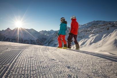 Skifahren im Brandnertal (c) Michael Marte - Bergbahnen Brandnertal